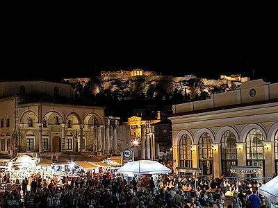Athens Nightlife Small Group Tour