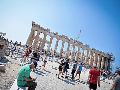 Best of Athens in a Day Private Walking and Driving Tour