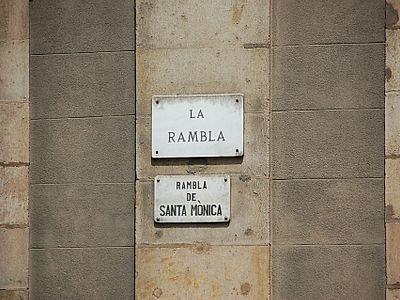 Ramble on La Rambla