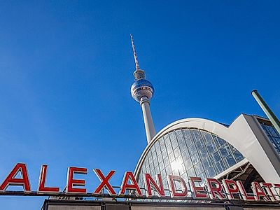 See the City From Above at Alexanderplatz