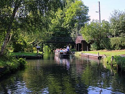 Dresden by Private Transfer to with a Stop in Spreewald