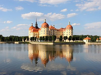 Dresden by Private Transfer with a Moritzburg Palace Stop