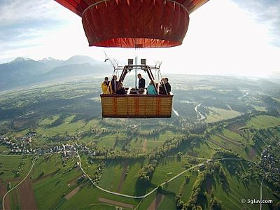 Bled Hot Air Balloon Small Group Tour