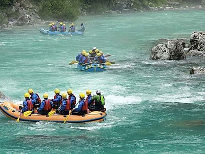 Classic Rafting Group Tour
