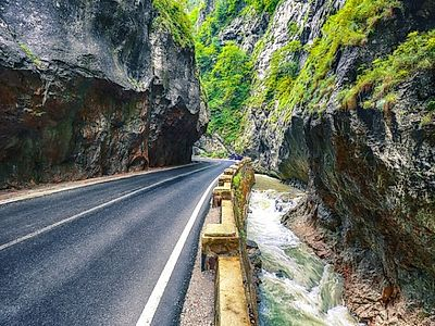 Bucovina by Private Transfer with a Stop at Bicaz Gorge and Red Lake
