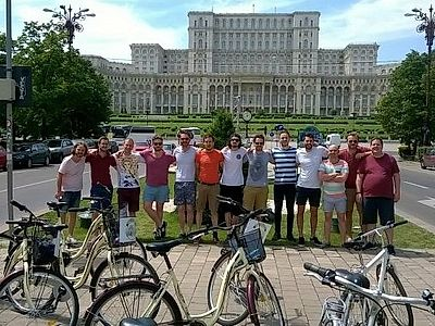 Bucharest Highlights Bike Group Tour