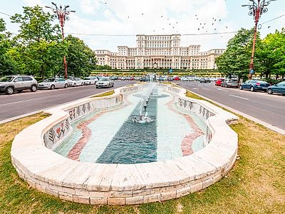 Bucharest Private Walking and Palace of Parliament Tour