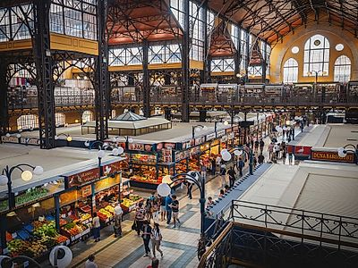 Budapest Market, Food, Coffee Private Tour