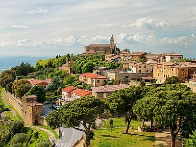 Val d'Orcia Private Day Trip: Montalcino, Montepulciano and Pienza from Castellina in Chianti