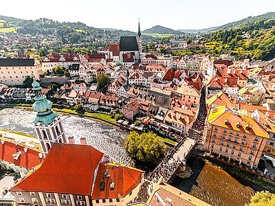 Cesky Krumlov Private Walking Tour and Monastery Visit