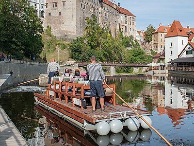 Experience Cesky Krumlov on a Small River Cruise