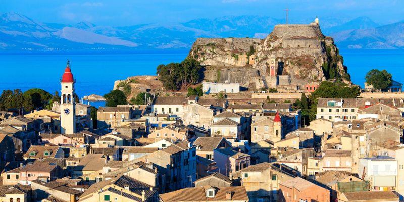 4 days in Corfu