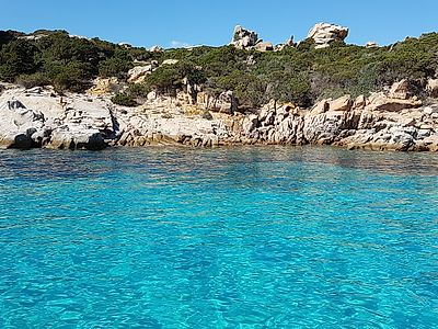 Full Day Catamaran Small Group Excursion to La Maddalena Archipelago