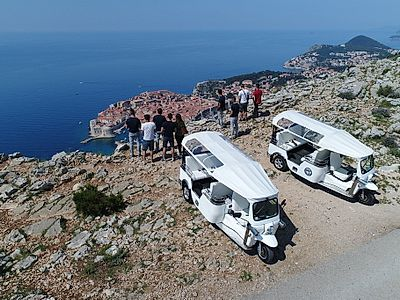 Dubrovnik in the Palm of Your Hands Private Tuk-Tuk Tour