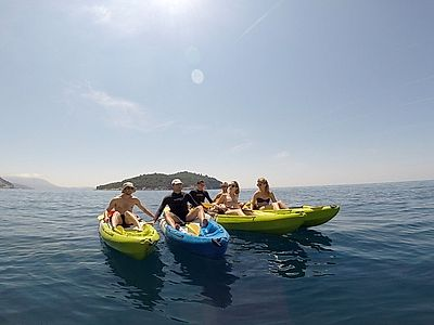 Sea Kayaking Small Group Tour