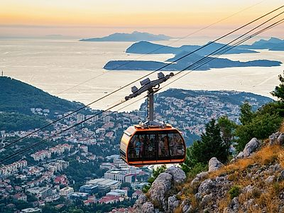 After Your Tour: City Walls, a Cable Car, and Lokrum Island