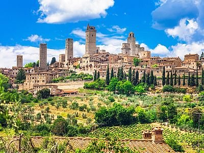 The Tuscan Gems - Siena, San Gimignano and the Tuscan Countryside Small Group Tour