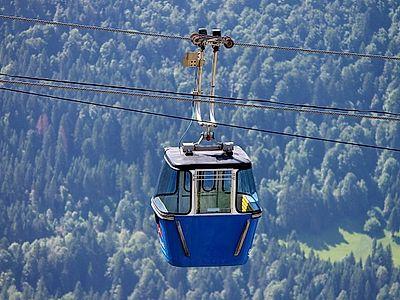 Ride Gondolas up the Peaks