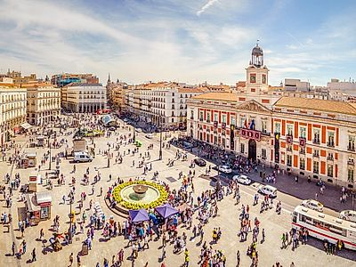 Upgrade to Madrid by Private Transfer with a stop in Baeza and Ubeda