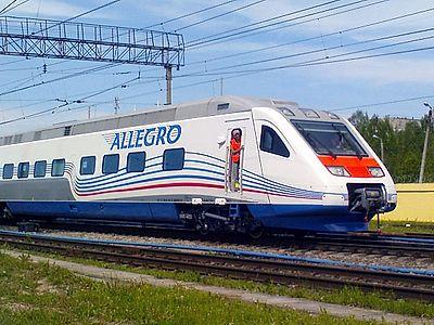 St. Petersburg by Train