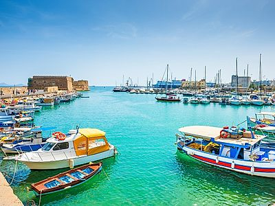 Heraklion Bites and Sights Small Group Tour