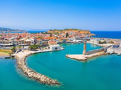 Chania by Private Transfer with Stop and Tour in Rethymnon, and a Stop in Argyroupoli