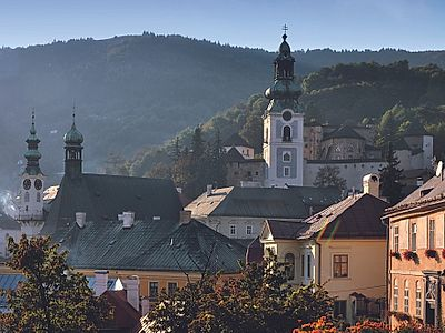 Bratislava by Private Transfer with a Stop in Banska Stiavnica