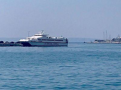 Korcula by Ferry