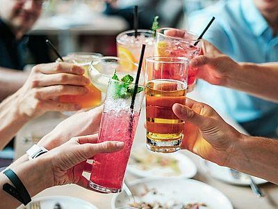 Wine, Cocktails...