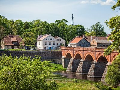 Riga by Private Transfer with a Stop in Kuldiga