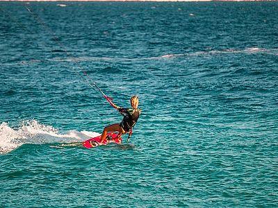 Windsurf Between Korcula and the Mainland