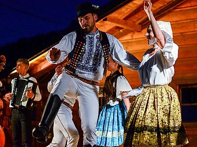 Traditional Slovak Folk Dance Private Class