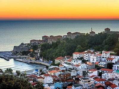 Tirana by Private Transfer with a Stop in Ulcinj