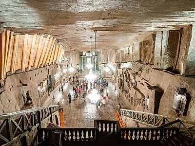Wieliczka Salt Mine Group Tour With A Private Driver