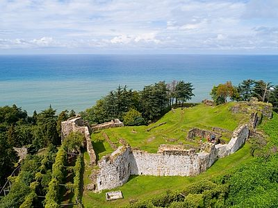 Batumi by Private Transfer with Botanical Gardens and Petra Fortress Stops