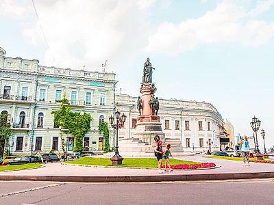 Odessa by Air