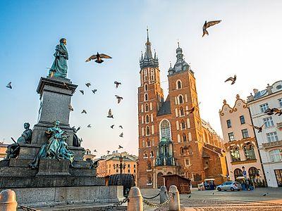 Krakow by Air