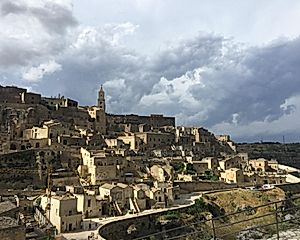 Day Stop in Matera