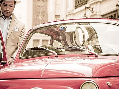 Milan By Night: Private Fiat 500 Tour