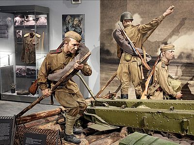 Visit the Belarusian State Museum of the Great Patriotic War