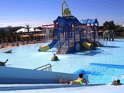 Aquapark fun!