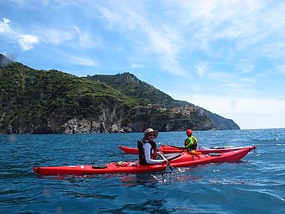 Cinque Terre by Kayak Group Tour from Monterosso