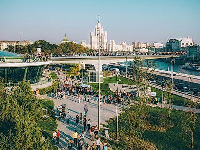 Explore Zaryadye Park