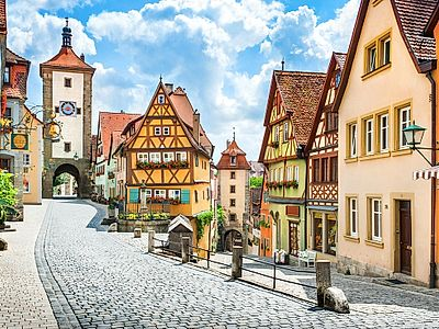 Romantic Road to Rothenburg Private Day Trip