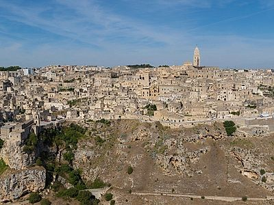 Alberobello by Private Transfer with a Stop in Matera