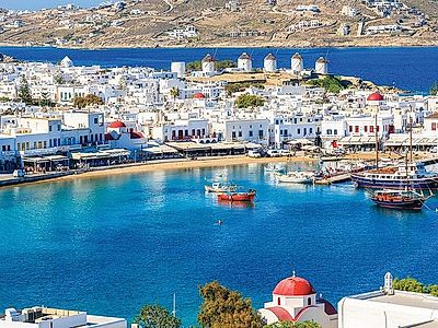 Delos and Mykonos Group Cruise