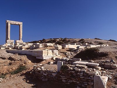 Portara, the Great Door of Naxos