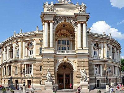 Odessa Opera House Private Tour