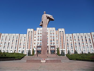 Chisinau by Private Transfer with a Stop in Tiraspol