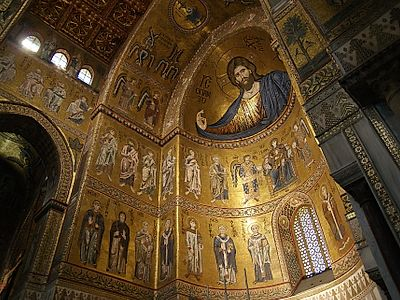 The Wonderful Mosaics of the Monreale Cathedral